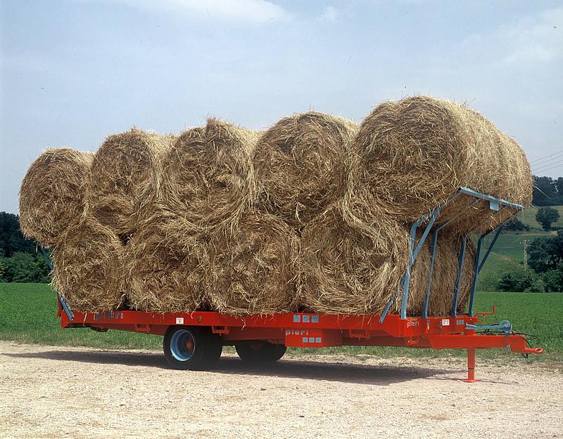 Rimorchi trasporto balloni - Macchine agricole, giardinaggio, viabilità